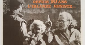 An Irlande Libre (French support group) poster from 1979 that is part of  the Moloney collection. Photograph: PA