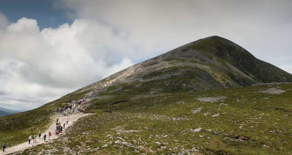 Croagh Patrick on Reek Sunday