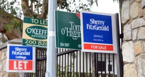Ratings agency Standard & Poor's has forecast Irish house prices to increase by 4 per cent this year. Photo: Cyril Byrne/The Irish Times