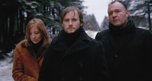 Portishead: Beth Gibbons, Geoff Barrow and Adrian Utley