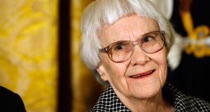 Harper Lee: after years of resistance from her, 'To Kill a Mockingbird' was published for Kindle by HarperCollins last month. Photograph:  Chip Somodevilla/Getty