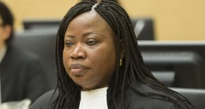 International Criminal Court prosecutor Fatou Bensouda. Photograph: Toussaint Kluiters/AFP/Getty Images