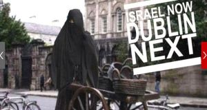 The Israeli Embassy in Dublin said there was no intention to cause insult or offence to anyone over controversial images that appeared on its official Twitter feed, including one of the statue of Molly Malone wearing a Muslim headscarf, last Friday.