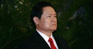 "Zhou Yongkang, China's former security chief, is being investigated for suspected ""serious disciplinary violation"". Photograph: Feng Li/Getty Images"