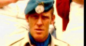 Pte Derek Smallhorne who was abducted and murdered in south Lebanon in 1980.