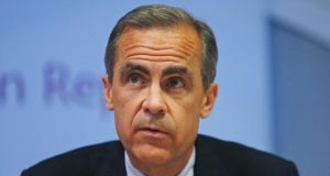Governor of the Bank of England Mark Carney. Photograph: Lefteris Pitarakis/PA Wire