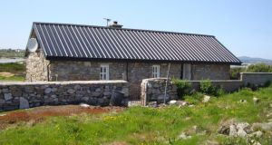 A one-bed cottage at Rosadillisk, in Cleggan, Co Galway, is asking €150,000