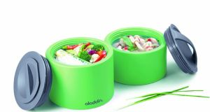 The Aladdin bento box from kitchencookware.ie will keep your lunch hot, or cold, for up to five hours