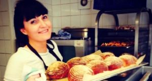 Irish chef Laoise Casey in the kitchen at The Dairy in Clapham, London