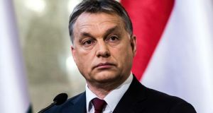"Hungarian prime minister Viktor Orban: ""The new state that we are building in Hungary today is not a liberal state . . . I don't think our European Union membership precludes us from building an illiberal new state based on national foundations."" Photograph: Bloomberg"