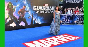 Guardian angel: Zoe Saldana at the UK Premiere of Guardians of the Galaxy on July 24th, 2014Z