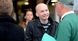 Former Socialist Party MEP Paul Murphy is to stand as a candidate in the Dublin South West byelection. Photograph: Cyril Byrne / The Irish Times