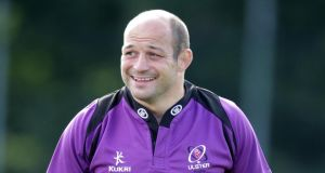 Rory Best has been named Ulster captain after the departure of Johann Muller. Photograph: Darren Kidd/Inpho/Presseye