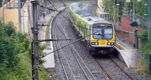 NBRU workers at Irish Rail are to hold two work stoppage next month over the company's decision to implement cost saving measures. Photograph: Eric Luke / The Irish Times