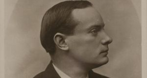 Pádraig Pearse: he may have whistled but he most definitely did not say farewell to his wife in the moments before his execution.  Photograph:  National Archives of Ireland