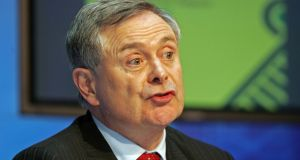 Minister for Public Expenditure and Reform Brendan Howlin has launched a public consultation on data sharing in the public sector. Photograph: Eric Luke/The Irish Times