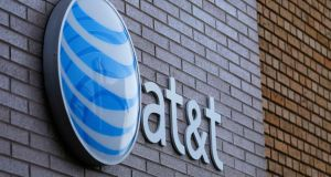 US telco giant AT&T is considering a bid for Eircom. REUTERS/Mike Blake