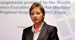 Dr Tracey Cooper, Hiqa chief executive. Photograph: Eric Luke.