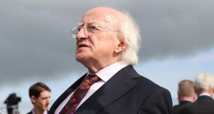 President Michael D Higgins: 'The Celts of Europe travelled much longer and farther than previously thought'. Photograph: Niall Carson/PA Wire
