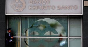 Investors breathed a sigh of relief on Monday after Portugal prevented the collapse of Banco Espirito Santo in a €4.9 billion bailout. Photo: Reuters