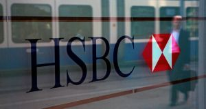 HSBC, Europe's largest bank, has reported a steeper-than-estimated decline in first-half profit. Photo: Bloomberg