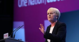Johann Lamont, leader of the Scottish Labour Party:  for now she has managed to quieten dissent in her own rants. Photograph:  Peter Macdiarmid/Getty