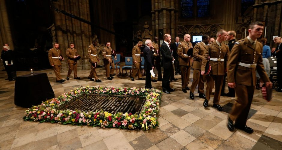 Centenary of outbreak of first World War