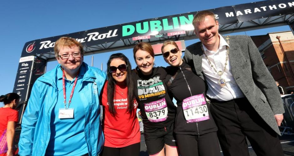 Sunshine and smiles: the Rock 'n' Roll Half Marathon