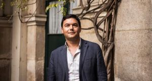 Thomas Piketty, the French economist whose work has fueled fierce debates about inequality. Photograph: Ed Alcock/The New York Times