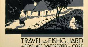 Cultural tourism: a travel poster from 1923. Photograph: SSPL/Getty