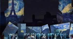 Rome Opera Company's recent performance of La Boheme at the Roman ruins of Caracalla had only a pianist as the orchestra was on strike