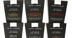 Cocoa Atelier's new ice-cream range is based on the falvours of its best selling chocolates