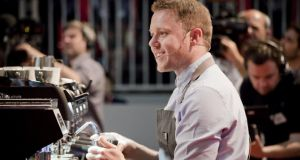 Pete Williams reached the semi-finals of the World Barista Championships in Rimini this year. The 2016 championships will be held in Ireland
