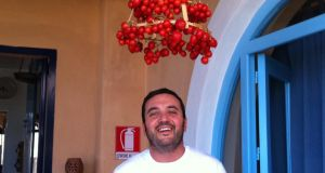 Marco Giannantonio, co-founder of Flavour of Italy, an Italian-Irish food business