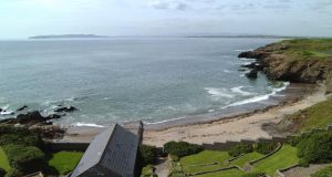 The beach at Portrane: Fingal County Council has advised the public not to swim at several north Dublin beaches due to health concerns over water pollution