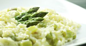 Risotto with rice from Lombardy