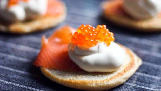 Movie Bites: Babette's Blini Demidoff au Caviar