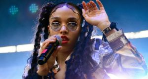 FKA twigs at Pitchfork Music Festival in Chicago last month. Photograph: Daniel Boczarski/Getty Images