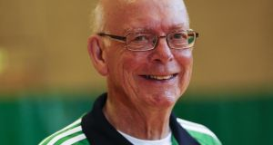 John McAleer: aged 76, he is the oldest Irish athlete on the team representing Ireland at the championships
