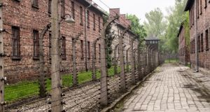 Auschwitz: the administration and medical buildings. Photographs: Andrew Kohn