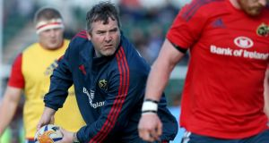Anthony Foley: reports his Munster squad is coming together nicely for the new season.