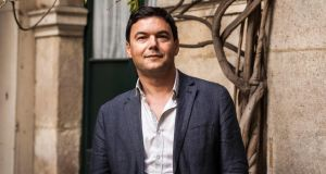 French economist Thomas Piketty has been nominated for the Financial Times's 10th business book of the year. (Ed Alcock/The New York Times)