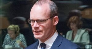 "Minister for Agriculture, Food and the Marine Simon Coveney said the move was ""obviously unwelcome"" from an Irish and broader EU perspective, but ""we cannot say it was totally unanticipated, given the recent evolution of events"". Photograph: Nicolas Bouvy/EPA"