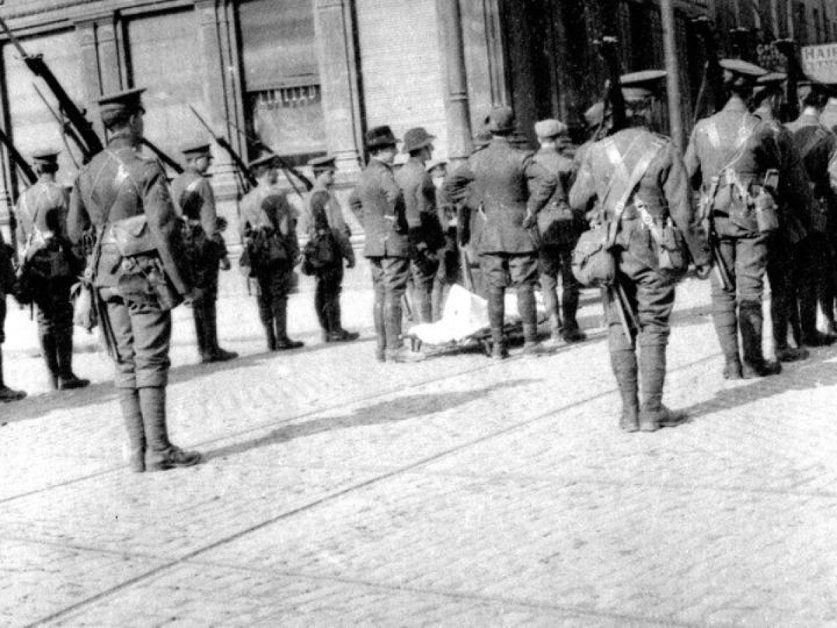 James Connolly 1916 Slate Irish Republican Easter Rising Rebel Picture Socialist