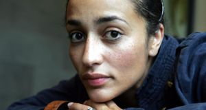 Zadie Smith – 'The past is always tense, the future perfect.' photograph: cyril byrne/the irish times
