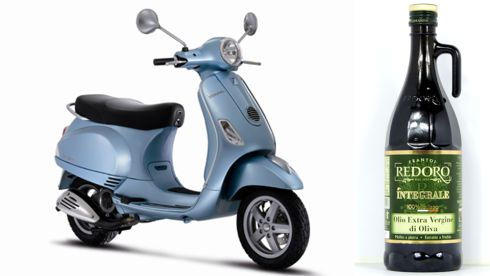 Vespa LX50 from €3,150 vespa.ie Redoro Extra Virgin Olive Oil €12.95 Little Italy