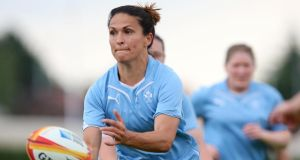 Tania Rosser's versatility allows the Blackrock veteran move from scrumhalf to outhalf. Photograph: Dan Sheridan/Inpho