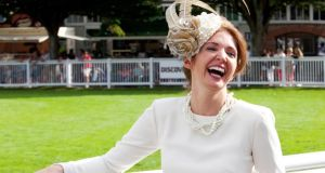 Best-dressed at the RDS: Carol Kennelly. Photograph: Paul Sherwood