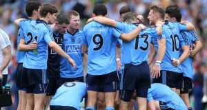 Dublin players are commended by Fergus Connolly for not just being a fine team, but for being good people. Photograph: Inpho
