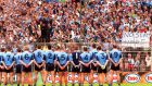 Champions Dublin are unlikely to show rivals Monaghan any quarter at Croke Park. Dara MacDónaill/The Irish Times